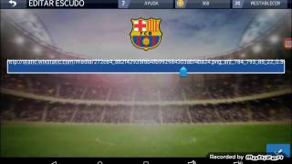 Como cambiar el escudo en dream league soccer 2016