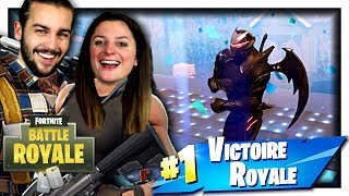 KIM FAIT PLEIN DE KILL ! | FORTNITE DOMINATION DISCO DUO FR