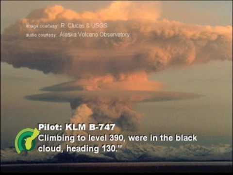 Eye on the volcano