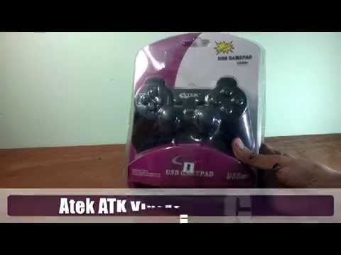 Atek ATK Vibration Gamepad Unboxing