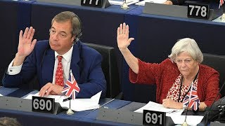 European Parliament votes in favor of another Brexit delay