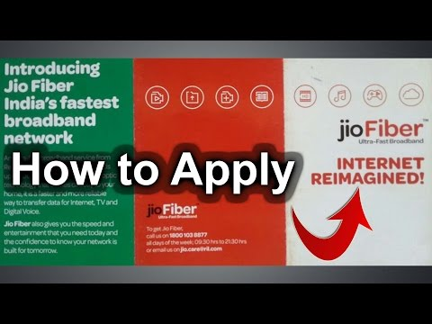 How to apply for JioFiber Broadband 100mbps connection - Nothing Wired