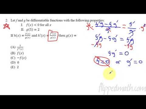 2008 Test Prepap Calculus