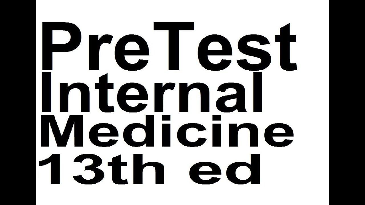 Pretest Internal Medicine 13th Edition Pdf