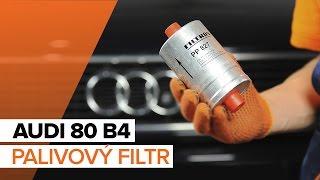 Uživatelský manuál Audi 80 B3 online
