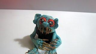 Фантастические существа из пластилина - Бугимен