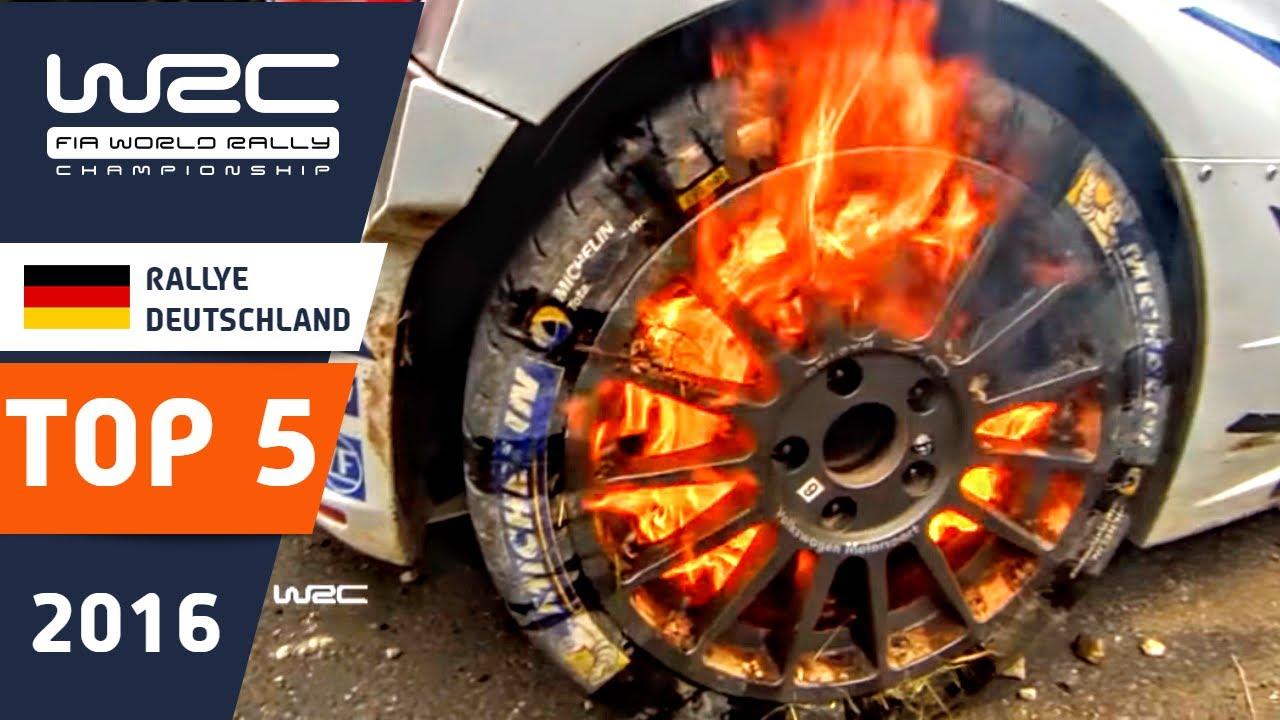 WRC - ADAC Rallye Deutschland 2016: TOP 5 HIGHLIGHTS