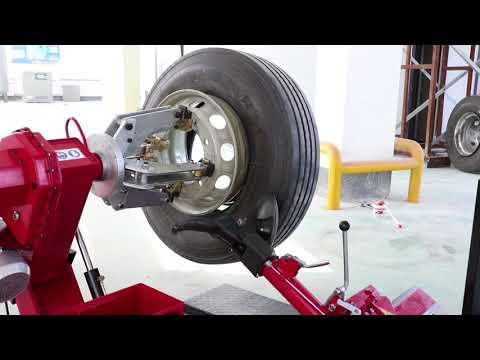 T568 TYRE CHANGER OPERATION VIDEO