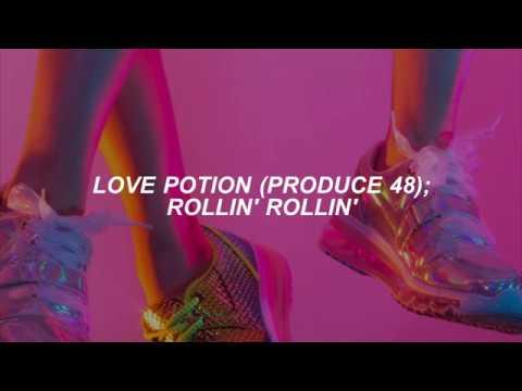 PRODUCE 48 (Love Potion) // Rollin'Rollin'; Sub Español