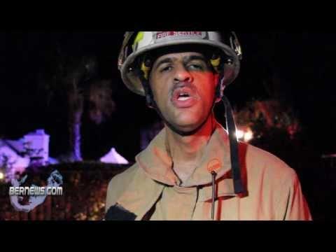 Bermuda Fire Service - Bay View Drive Dec 9