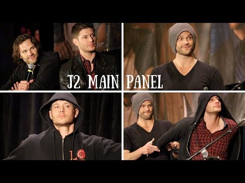 Jared and Jensen Full Main Panel | Supernatural Seattle 2018
