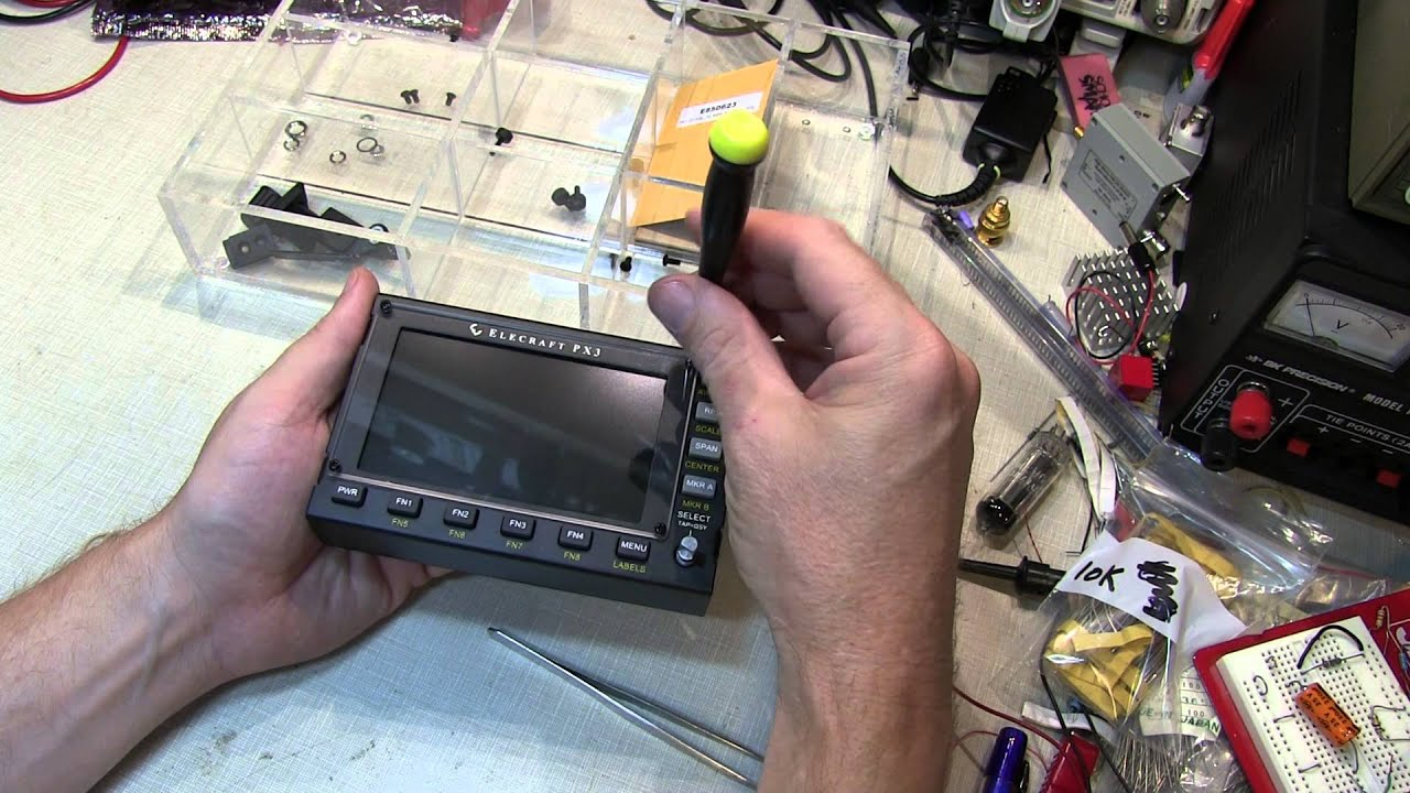 #180: How to assemble of the Elecraft PX3 Panadapter kit