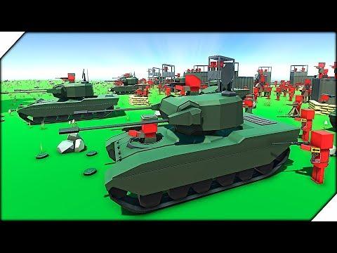 НОВАЯ ТЕХНИКА Штурмует базу - Игра Ancient Warfare 3 # 4 Эпические битвы солдатиков