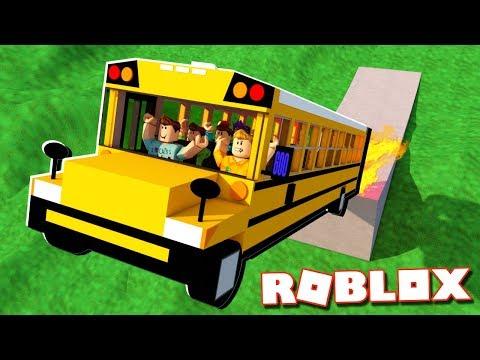 SCHOOL BUS RIDE SIMULATOR IN ROBLOX!