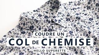 Voilà notre dernière vidéo de notre série spéciale chemise ! Dans celle ci on vous donne nos tips pour bien coudre le col ! Dans nos précédents tuto couture, on ...