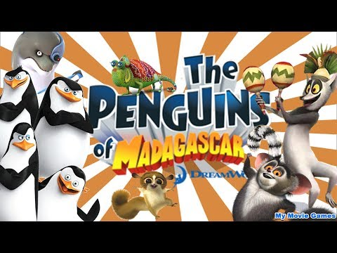 download PENGUINS OF MADAGASCAR FULL MOVIE ENGLISH GAME Dreamworks Penguins Cartoon TV Movie Series Gameplay