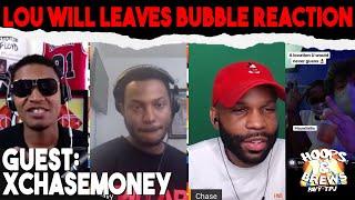 Lou Williams leaves NBA Bubble Reaction w/ @xChaseMoney  | Hoops & Brews (Clip)