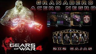 """Gears of War 4 l 1er. """"Partida Granadero"""" Acero Negro l 2 VS 2 l Cajas l  1080p Hd"""