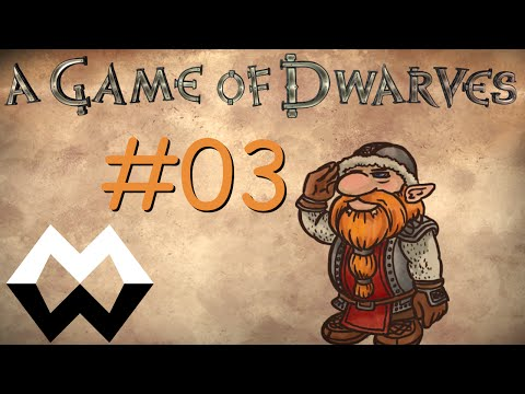 A Game of Dwarves Deutsch / German #03 - Unser Pet (Let's test)  
