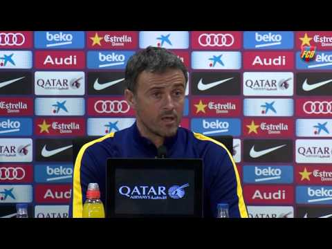 Luis Enrique unsure what to expect from Gary Neville's Valencia