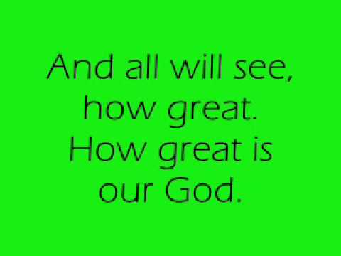 How Great Is Our God Lead Sheet, Lyrics, & Chords | Chris ...  |How Great Is Our God Lyrics