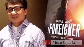 THE FOREIGNER talk with Jackie Chan, Martin Campbell, David Marconi - October 3, 2017