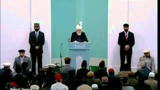 Prayers for Muslim Ummah & Khilafat Islam Ahmadiyya 25 02 2011 anglais clip0