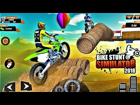 Real Stunt Bike Pro Tricks Master Racing Game 3D-Best Android Gameplay HD