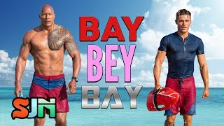 Baywatch Cast Chooses Michael Bay, Beyonce or Baywatch!