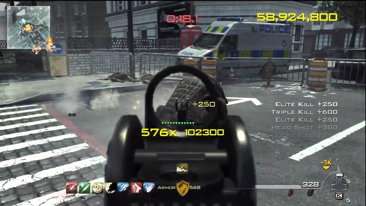 Video - MW3 Chaos 125million Score - 793 Combo in