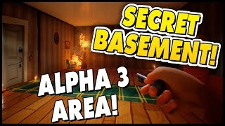 GIANT & TINY MODE! CHANGESIZE CHEAT | Hello Neighbor Alpha 2 Gameplay