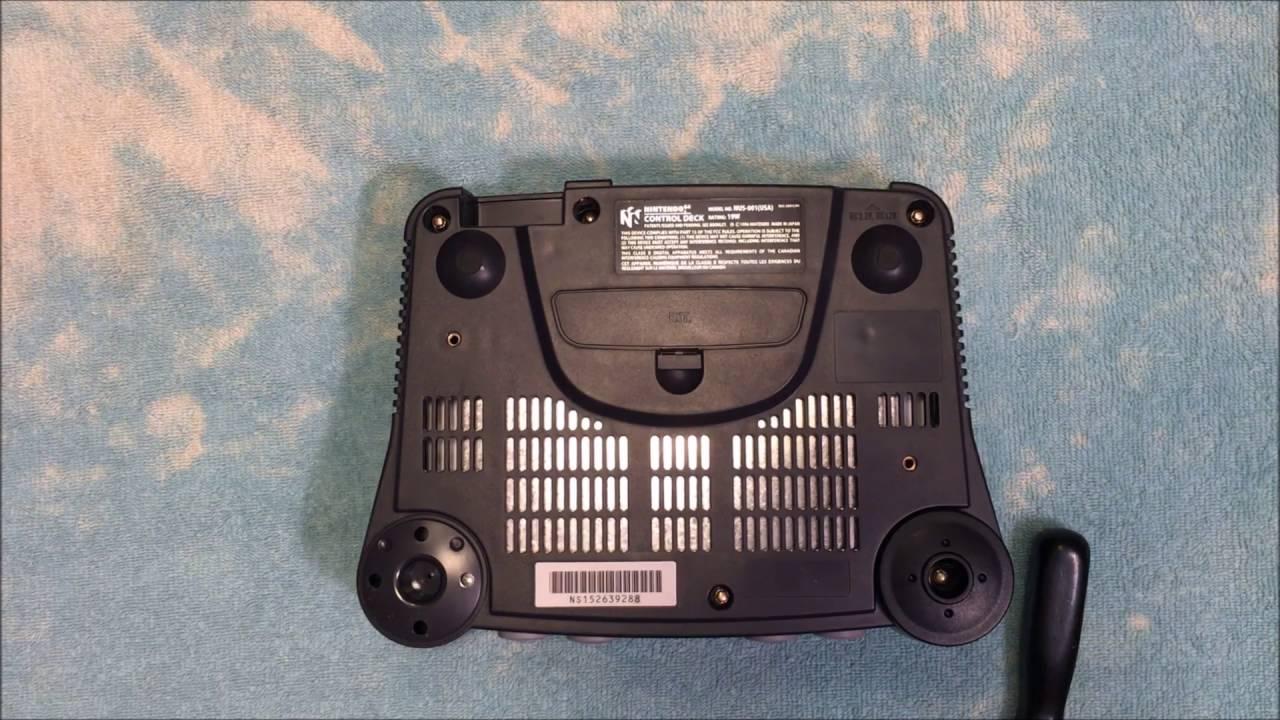 Modding a Nintendo64 (N64) for RGB Video w/an RGB Amplifier