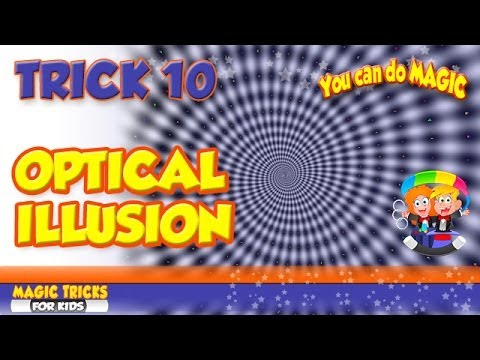 Optical Illusion Magic Trick that a 3 year old child can ...