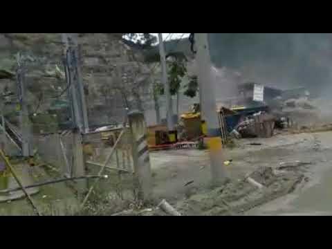 Colapso de hidroeléctrica causa emergencia en Antioquia (Videos)