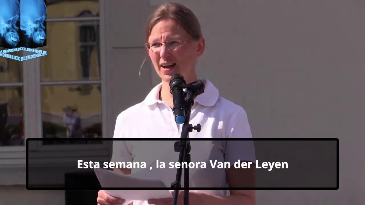 Dra alemana denuncia la manipulación del covid
