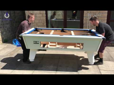DPT Omega Outback - Outdoor Slate Bed Pool Table Installation