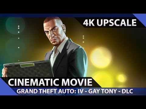 Grand Theft Auto: The Ballad of Gay Tony - Cinematic Movie (4K UHD)
