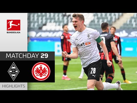 Borussia Moenchengladbach Eintracht  Frankfurt Goals And Highlights