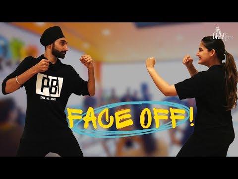 SINGH VS KAUR | PB Max | Saa Charju | Bhangra Workshop | Hardy & Jessica |