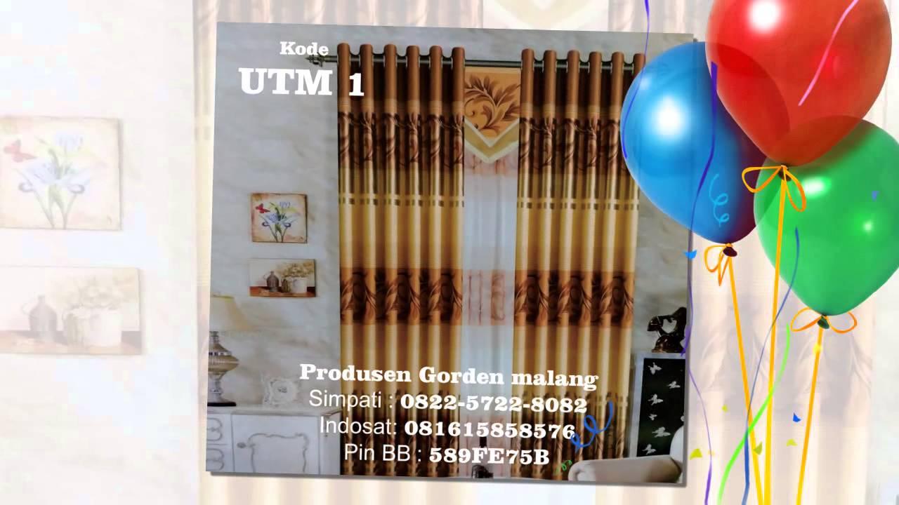 Harga Rel Gorden Rumah Sakit Tirai Jendela Minimalis Ikat Karakter Hello Kitty Murah 0822 572 Youtube