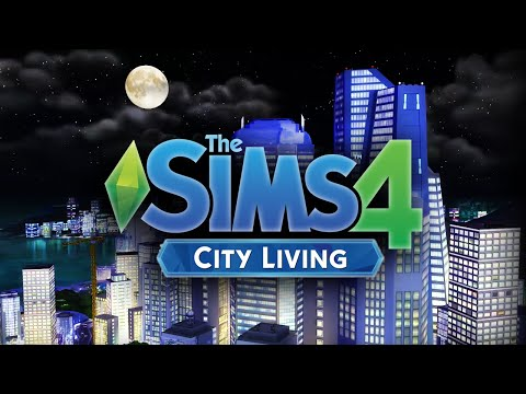 The Sims 4 City Living | First Look / Reaction to Trailer!