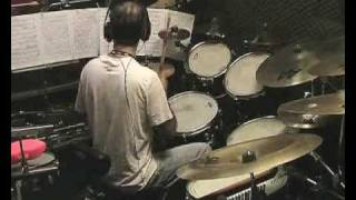 Dave Weckl - Heads Up -cover -Sandro Colombatto -S.EM.WHISPER