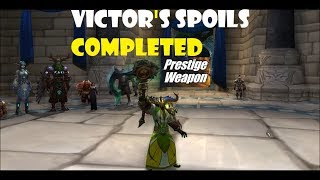 Unlock Death's hand Affliction skin Warlock .The Victor's Spoils, Unstoppable?, Arnstopable!