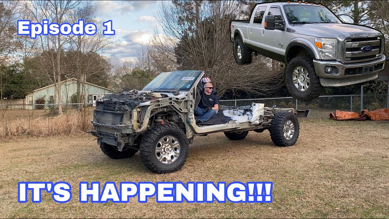 Download Wrecked 6.7 Powerstroke Gets a New Life: 6.7 Swap Episode 1