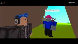 Roblox movie *Prison breakout* Prt 2(Check out team jub jub for prt 1)
