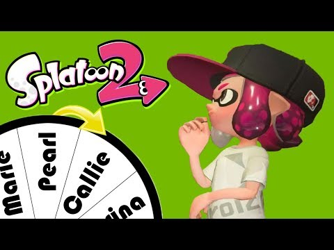 Spin the Wheel Challenge! (Splatoon 2 Funny Moments)