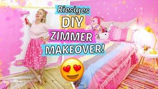 Riesiges ZIMMER MAKEOVER  😱 DEKORIEREN & UMGESTALTEN 🌟 Zimmer Deko selber machen & DIYs!