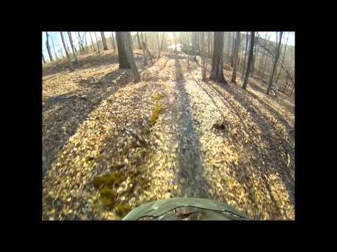 Southern IL Cedar Lake and SIUC Campus Mountain Biking