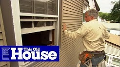 How to Fix Leaky Siding | This Old House