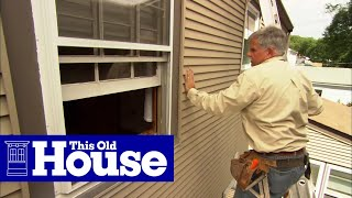 How to Fix Leaky Siding - This Old House